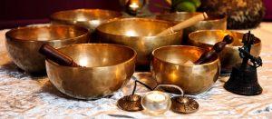 Dhara Wellness Garden - Tibetan Bowls